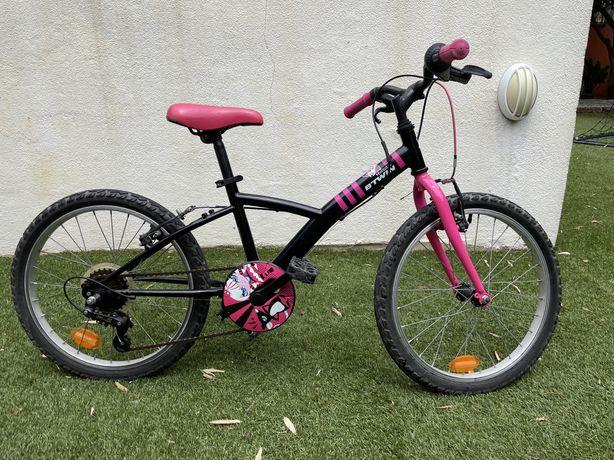 Bicicleta crianca roda 20 6-9 anos