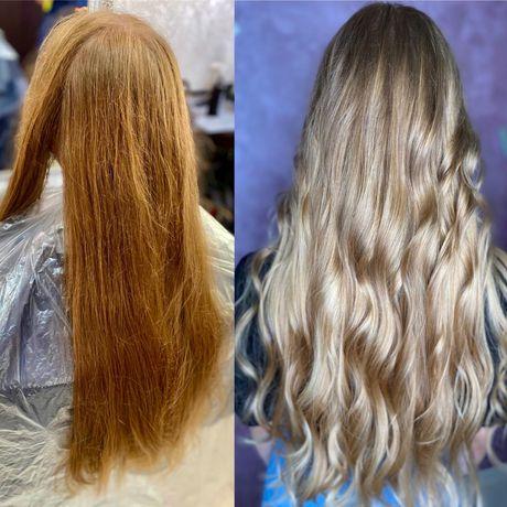 Окрашивание волос херсон