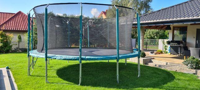 Sprzedam solidną trampolinę firmy Jumpi 5m dużą
