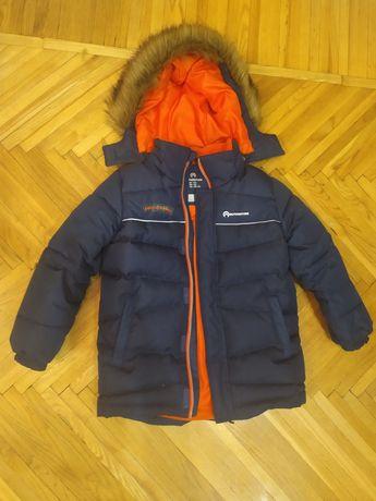 Куртка пуховик 122р