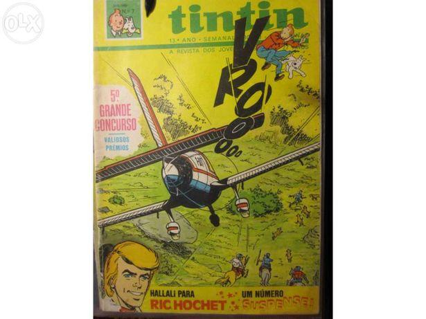 Revista Tintin ano de 1980