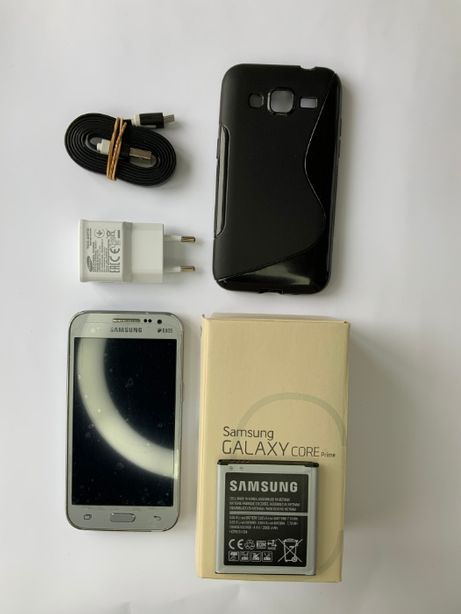 Телефон Samsung Galaxy Core Prime G361H/DS Silver 1/8GB+захисна плівка