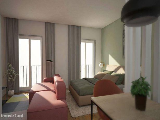 Apartamento T0+1, Centro Histórico do Porto