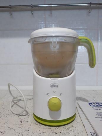 Пароварка блендер 4в1 Chicco Cuocipappa Easy Meal