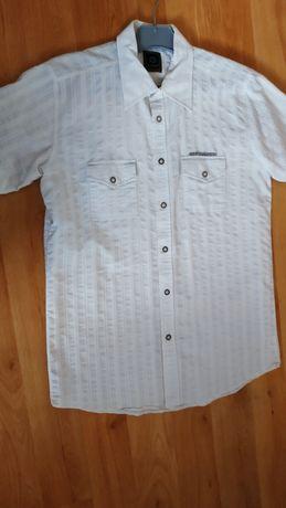 Biała koszula L