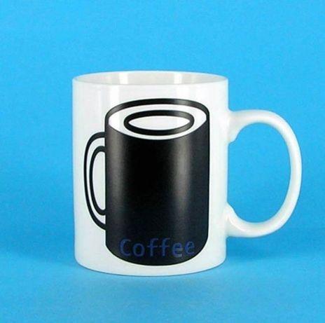 Чашка-хамелеон, чашка с лайком, оригинальная чашка, кружка на подарок