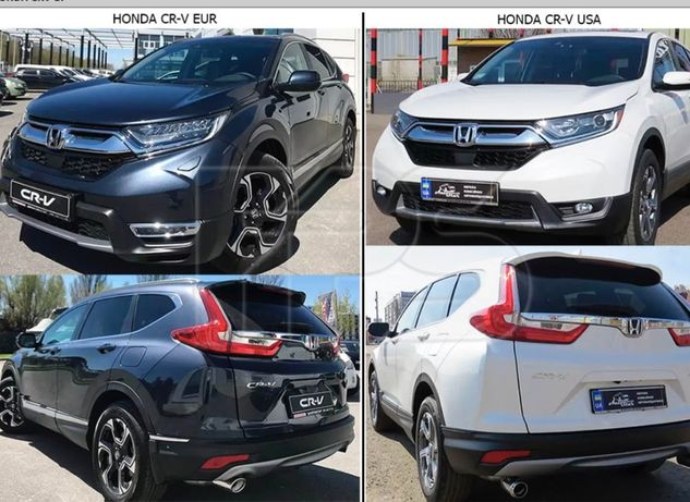 Капот, крыло, решетка, бампер, фара Honda CRV 2018 год USA EUR