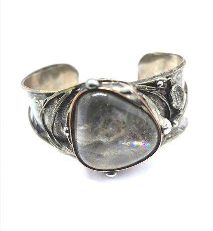 bransoletka z metaloplastyki artystycznej rękodzieło Cu/Ag Eremit