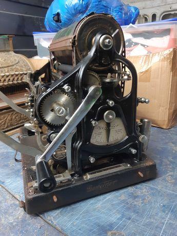 Maszyna drukarska Gestetner Unikat