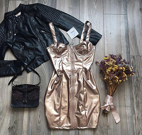 Платье новое, эко-лак
