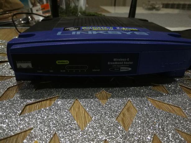 Linksys WRT54Gs Router + SpeedBooster