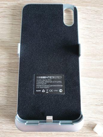 Etui iphone X z wbudowaną baterią, powerbank