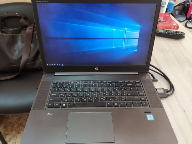 Ноутбук HP Zbook G3 STUDIO 4K i7-6280HQ 32GB SSD512GB M1000M