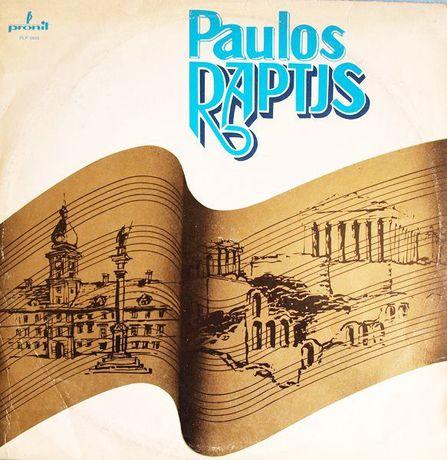 PAULOS RAPTJS - Płyta LP Vinyl 33 Promocja!