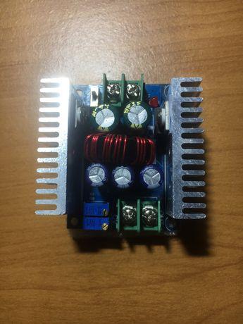 300W 20A понижающий DC-DC преобразователь 1.2-36в с регулировкой тока