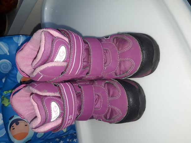Продам зимние термо ботинки B&G на девочку