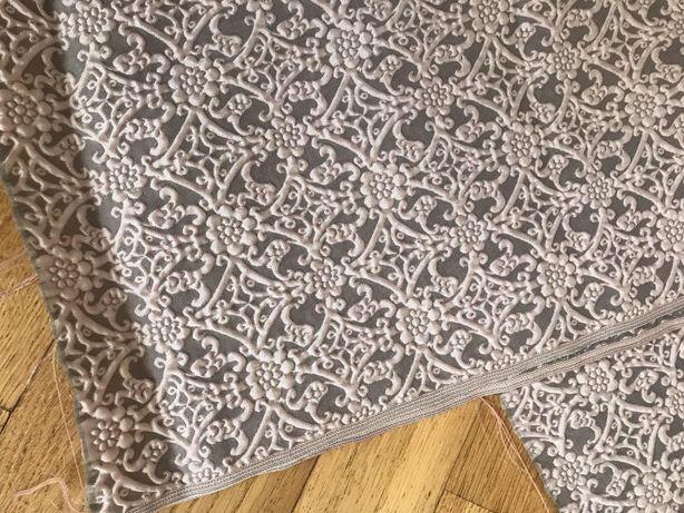 ткань клоке с объемным рисунком вельвет