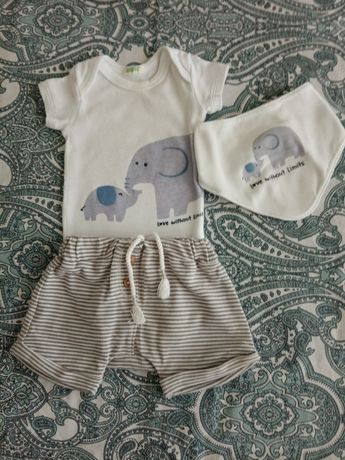 Conjunto bebé 0 a 3 meses