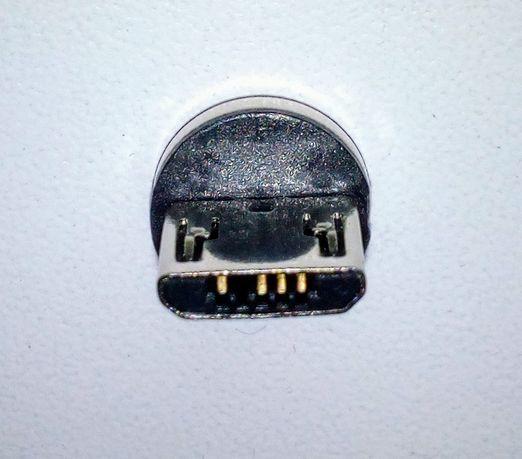 Магнитный коннектор micro USB или Type-C новый