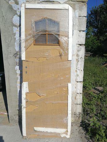 Skrzydło drzwiowe 70 lewe dąb łazienkowe