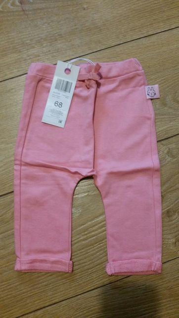 spodnie dla niemowlaka nowe r. 68