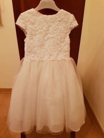 Vestido de batizado / cerimónia branco de menina NOVO - tamanho 2 anos