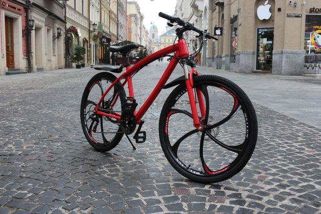 BMV Облегченный Велосипед! Потрясный дизайн! ЛИТЫЕ ДИСКИ Рост: 130-185