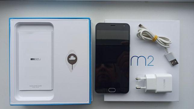 Meizu m2 mini, M578H, dark grey, 16 GB + аксесуари (як новий)