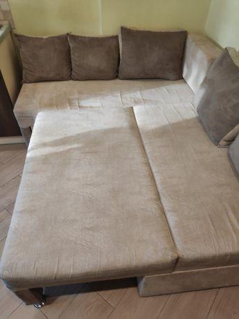 Продам б.у. диван- уголок