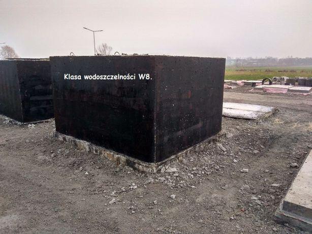 Wodoszczelny zbiornik na deszczówkę.Zbiorniki betonowe na wodę.Ppoż