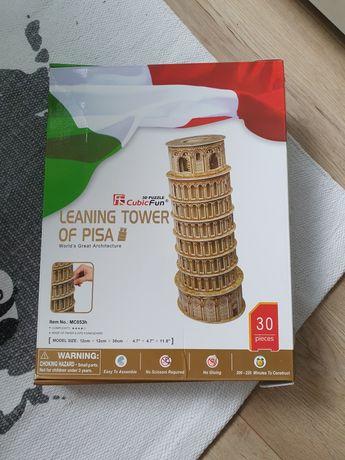 Puzzle 3d krzywa wieża w Pizie nowe