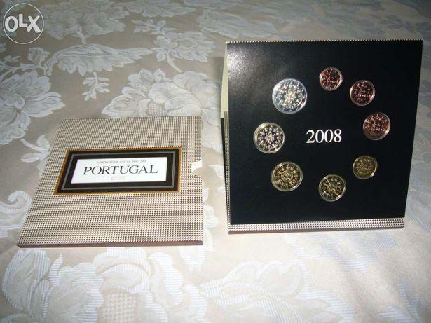 Set moedas BNC 2008 - Impecável