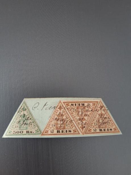 Selos fiscais antigos