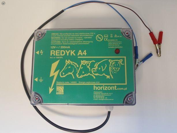 Pastuch akumulatorowy 12V Elektryzator na Wydry Bobry Dziki Sarny Owce