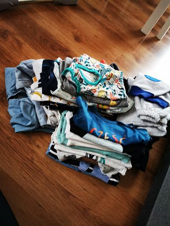 Paka ubrań dla Chłopca 62-68