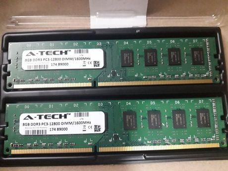 Обмен. ОЗУ A-TECH - DDR3 - 16GB - 1600MHz