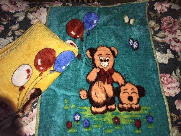 Одеяла,пледы детские