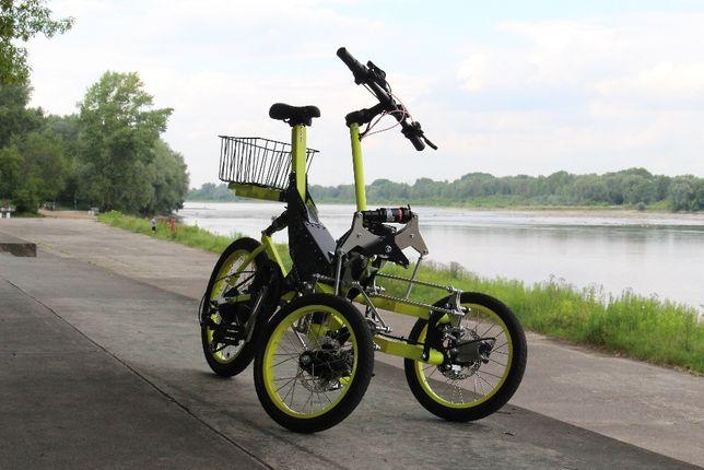 Rower trójkołowy ze wspomaganiem elektrycznym EV4
