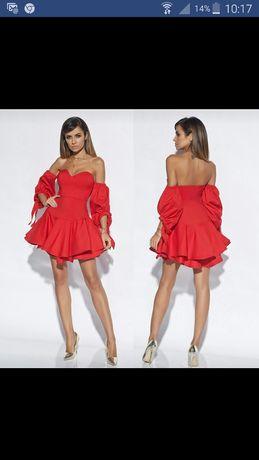 Suknia lou babi pieknie sie prezentuje