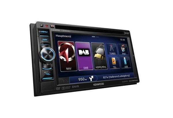"Radio Kenwood DNX4250DAB 6.1"" WVGA, Navigation System"