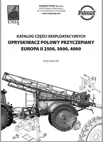 Katalog części opryskiwacza Europa II 2500, 3000, 4000