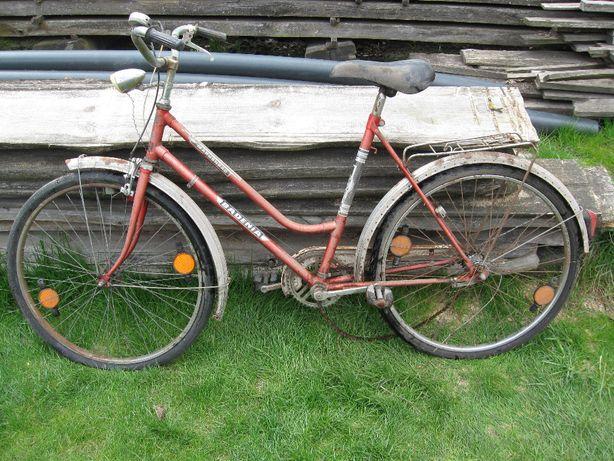 Stary rower niemiecki Markenrad Kirsch Badenia damka damski PRL