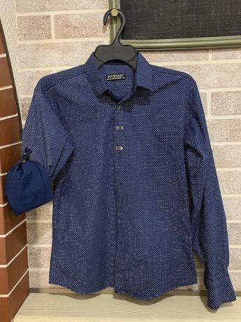 Рубашка хлопкова з рукавом-трансформером Ikoras