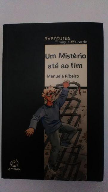 """Livro """"Um mistério até ao fim"""""""