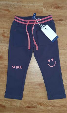 NOWE spodnie 92 cm 5.10.15. dresowe dresy