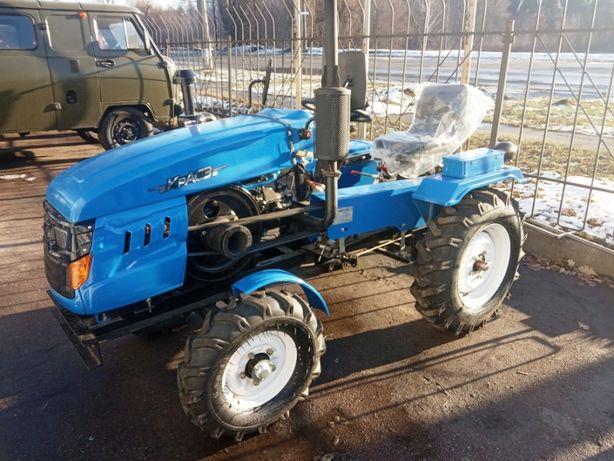 мото-трактор КрАСЗ Т-160 доставка безкоштовно + грунтова фреза
