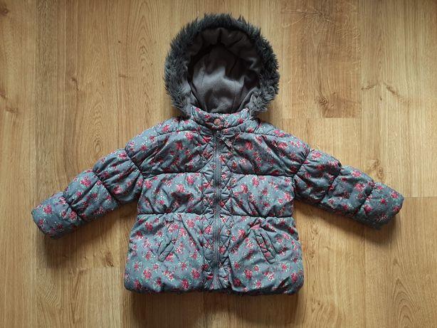 Zimowa kurteczka NEXT dla dziewczynki rozm. 98