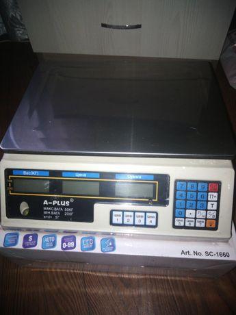 Весы електронные торговые б/у до 50кг