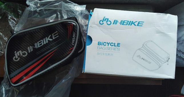 Inbike сумка на раму велосипеда для смартфона