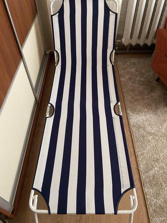 Шезлонг раскладушка лежак для бассейна сада двора отдыха